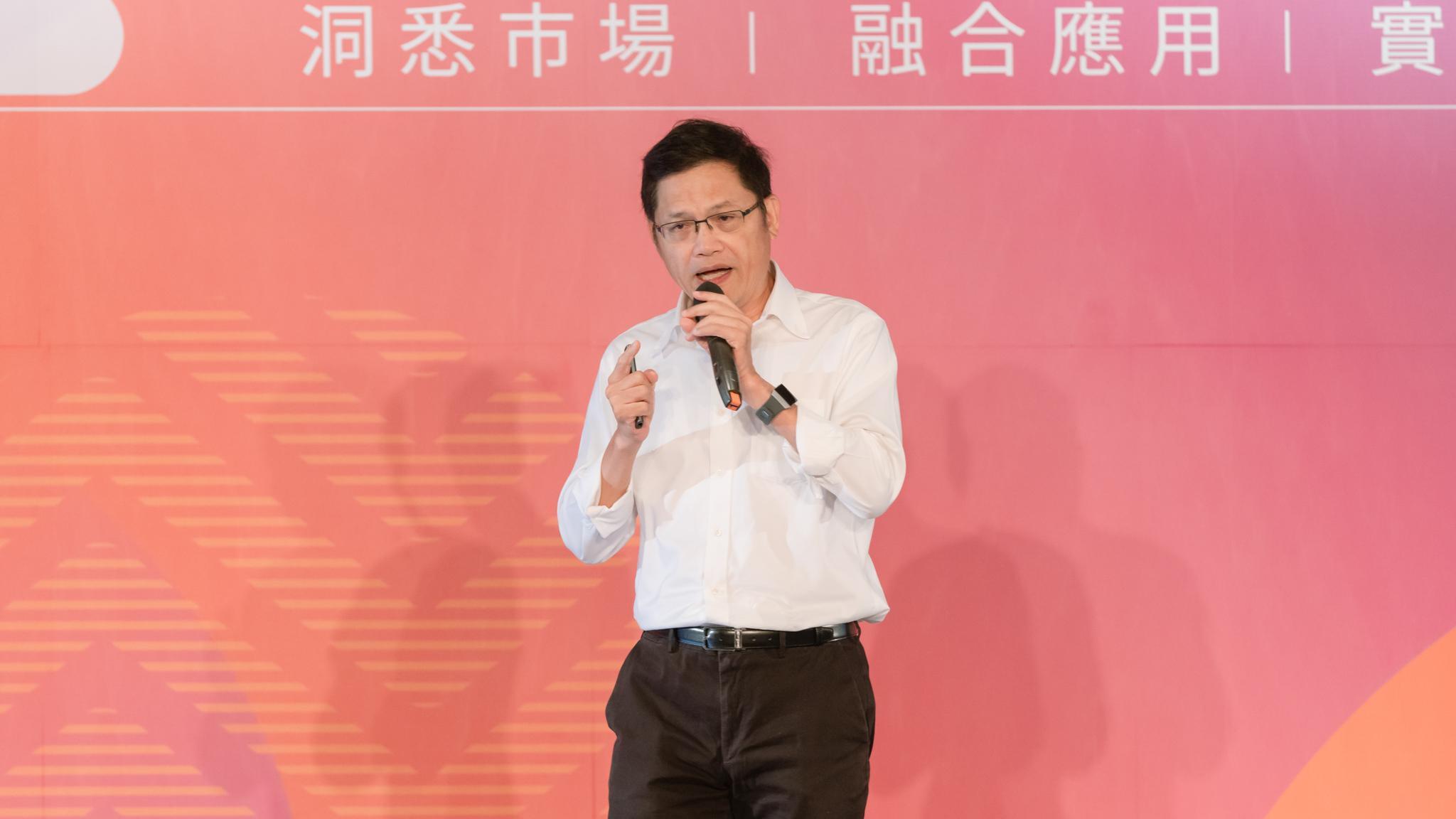 台科大特聘教授 盧希鵬於 OMO 品牌新零售高峰會