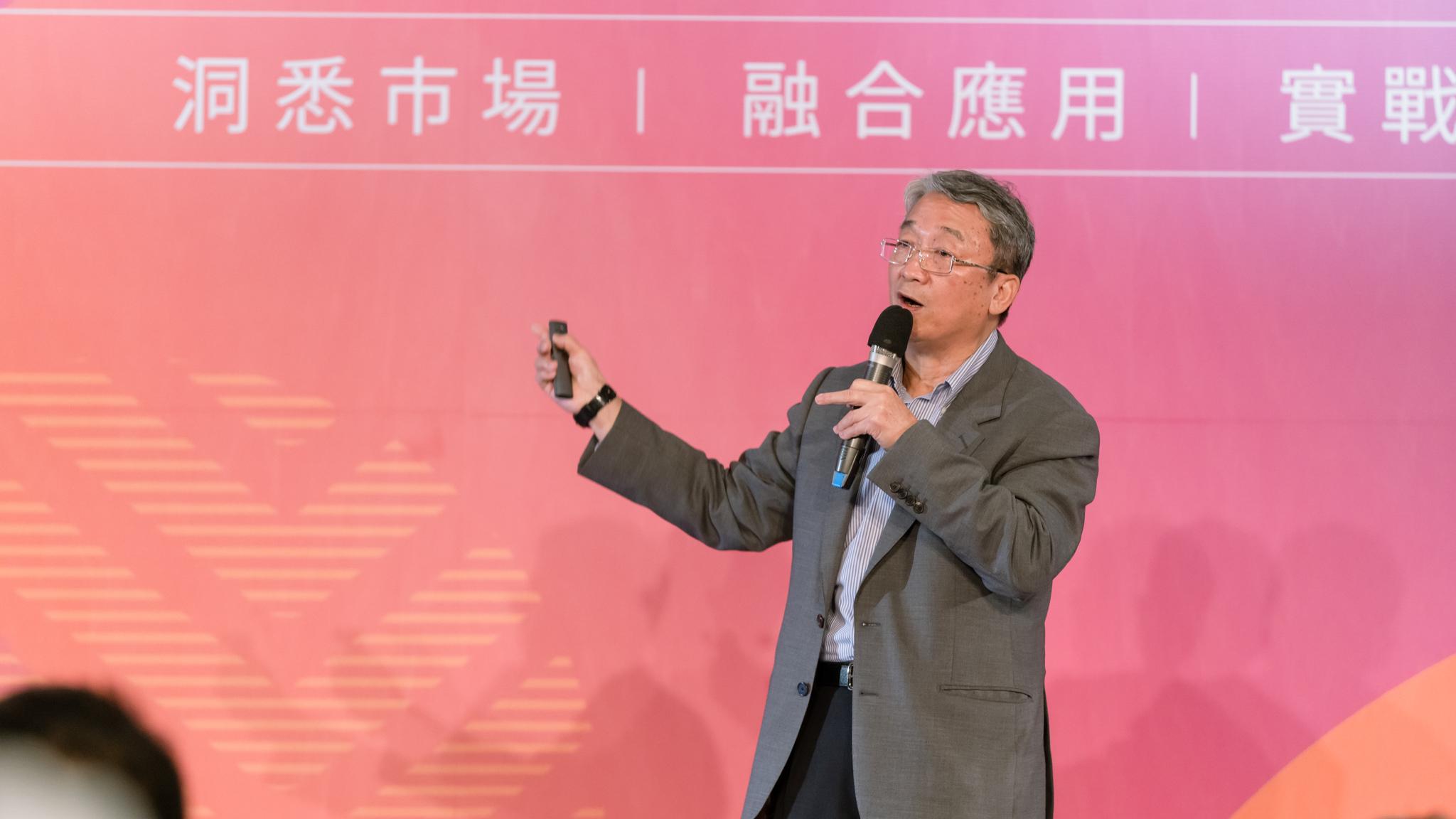 全聯實業副董事長 謝健南於 OMO 品牌新零售高峰會