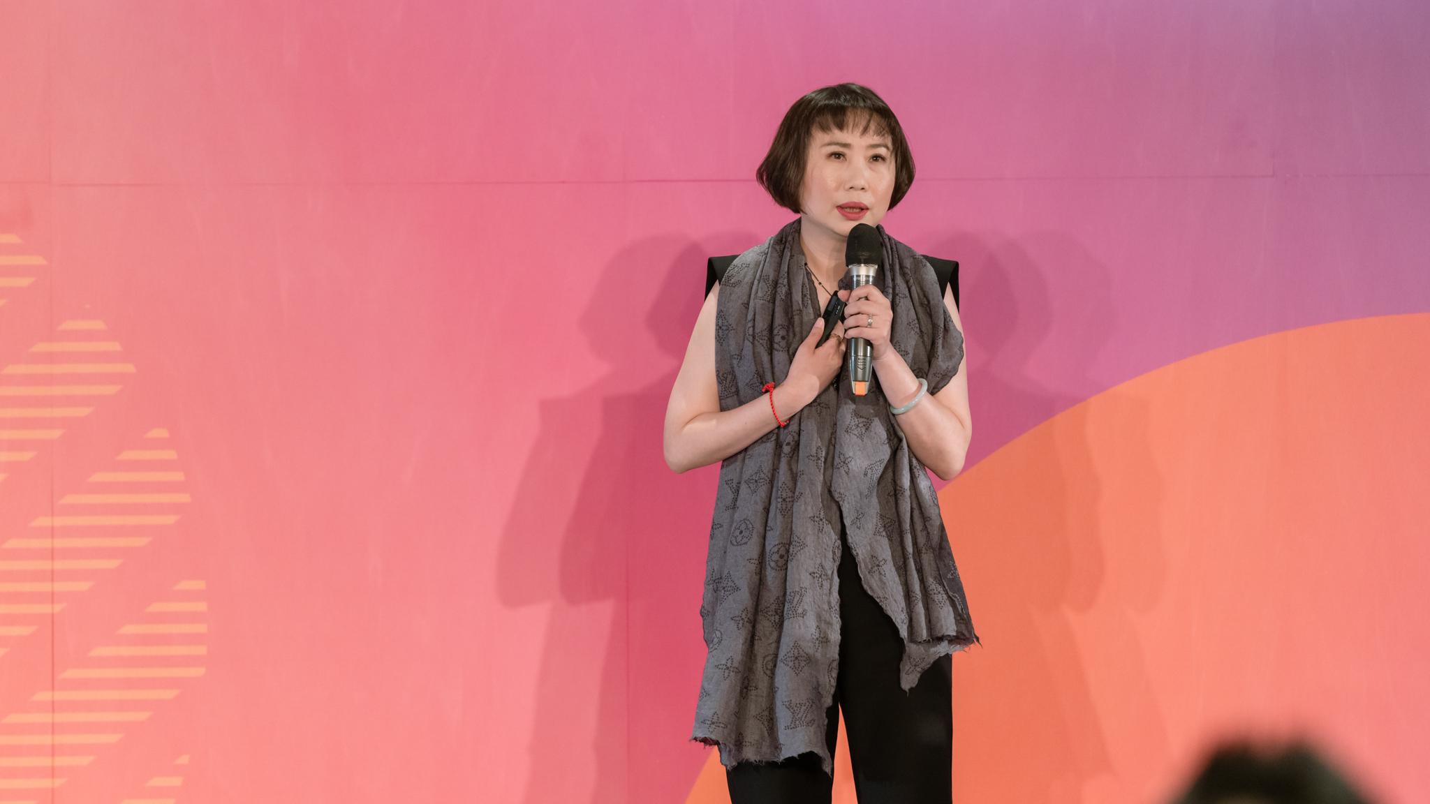 MAKE UP FOR EVER 總經理 陳佩琳於 OMO 品牌新零售高峰會
