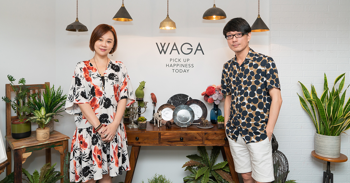 WAGA:盛一碗,裝一盤,簡約的美學日常
