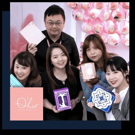 跨境電商美妝品牌:Q'her 植感 用 91APP 做跨境電商賣到全世界