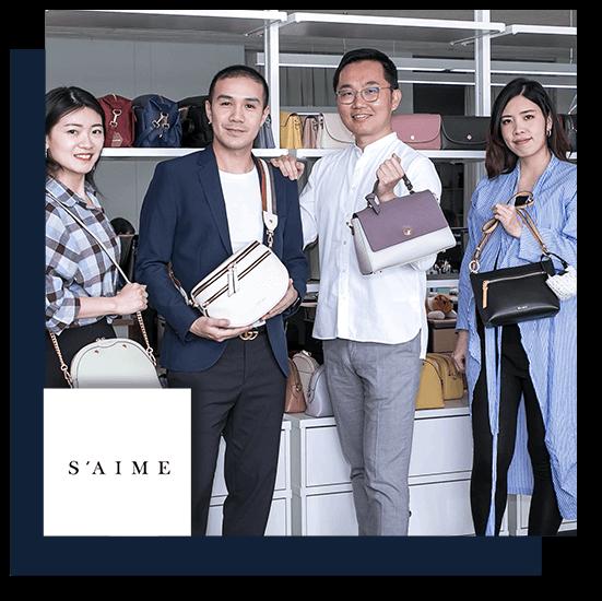 跨境電商 時尚品牌:S'AIME 東京企劃 用 91APP 做跨境電商