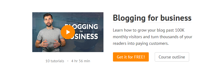 Ahrefs: Blogging for business 免費部落格教學課程